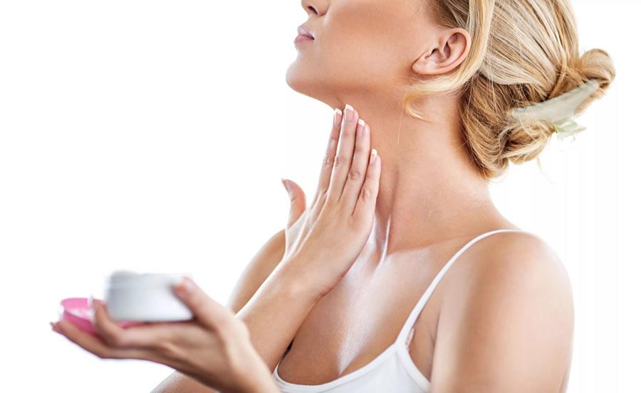 Гигиена кожи на шее