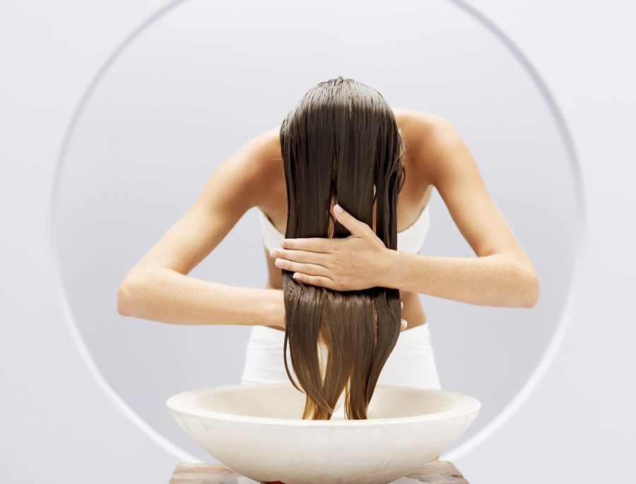 Ополаскивание волос от высыпаний на голове