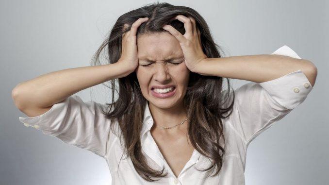 Прыщи на лице от стресса
