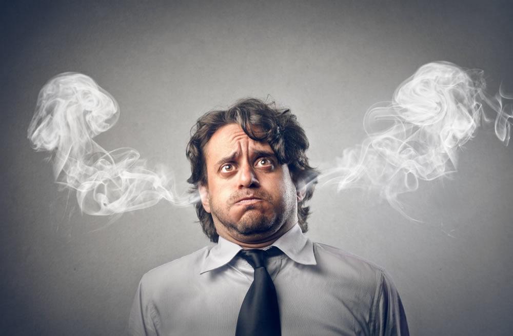 Стресс как причина появления прыщей
